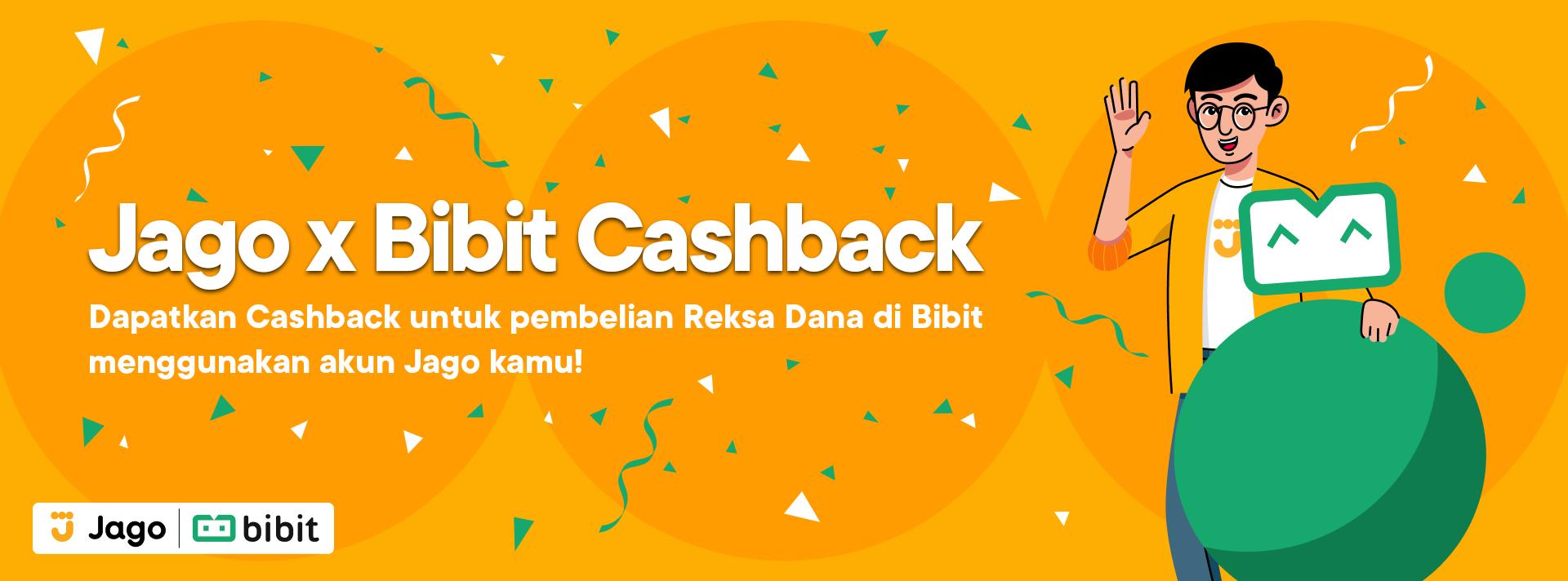 Jago x Bibit Cashback