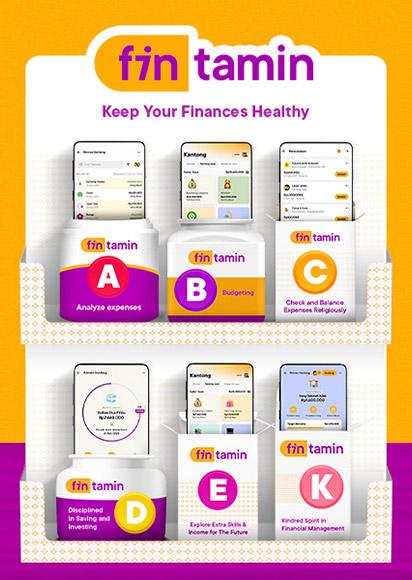 Fintamin - keep your finances healthy